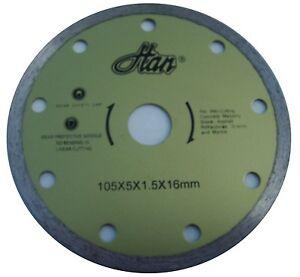 Disque Diamant Carrelette Electrique Diametre 105 Mm Alesage 16mm Carrelage Ebay