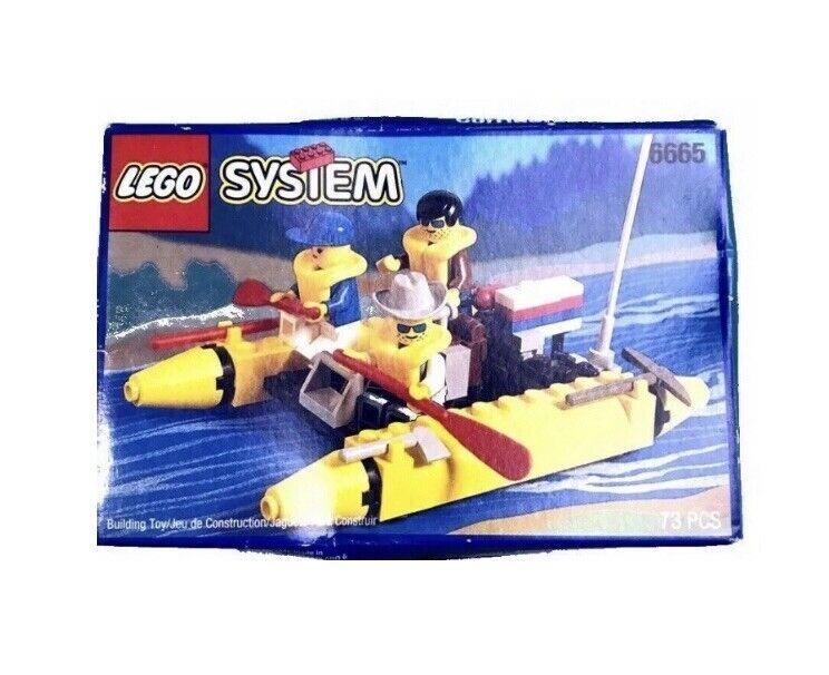 LEGO  System Vintage nuovo 6665 River correreners Rare Factory Sealed scatola  fabbrica diretta