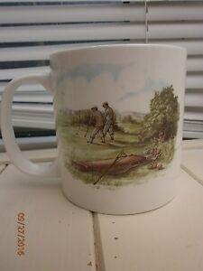 Golf mug collectable fine bone china  inglewood studion BAFGA 1999 - <span itemprop='availableAtOrFrom'>Chatham, United Kingdom</span> - Golf mug collectable fine bone china  inglewood studion BAFGA 1999 - Chatham, United Kingdom