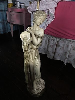 Greek, Grecian Goddess Universal Statuary Lamp Rewired