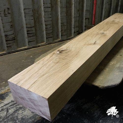 Solid European Oak Mantel Piece//Lintel 1220mm x 200mm x 50mm