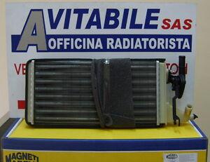 Radiatore Riscaldamento Iveco Daily 35.8 Dal 1989 -> CON RUBINETTO