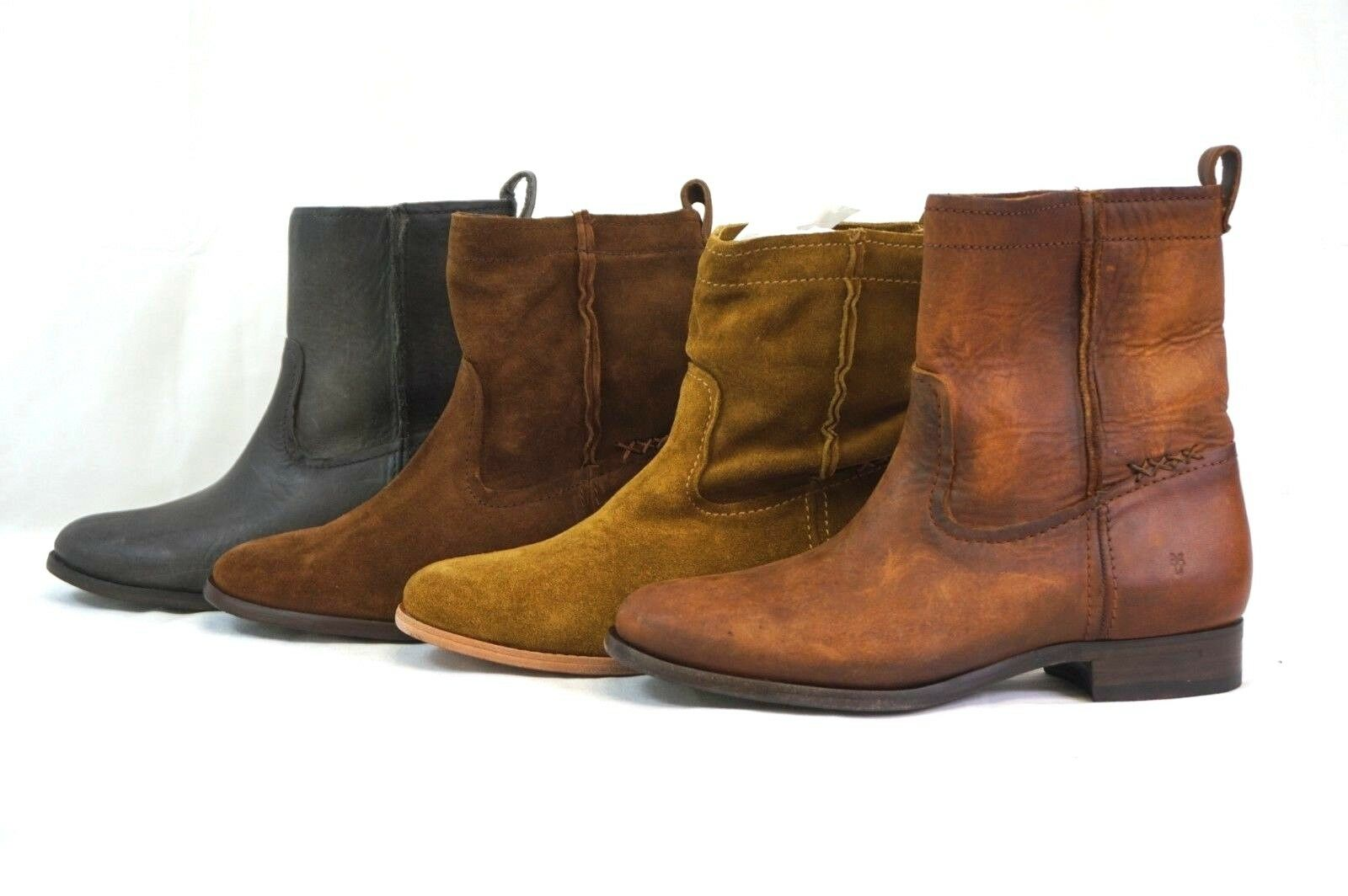 NEW  FRYE FRYE FRYE damen' s Cara Short Pull-On Leather Suede Stiefel 5.5, 6, 6.5, 7, 8, 8.5 2e55a8