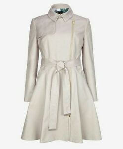 69192a8b4c4682 Image is loading NWOT-Ted-Baker-London-Kelsie-Trench-Coat-Size-