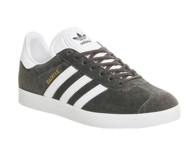 newest collection c0e48 002d6 Adidas Gazelle DGH SOLID GREY WHITE GOLD MET Trainers Shoes