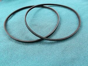 2-NEW-DRIVE-BELTS-FOR-RIKON-70-100-MINI-LATHE-12-034-LATHE