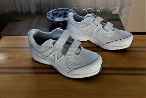 New-Balance-411-White-Leather-Women-039-s-Shoes-US-Sz-9-5-314