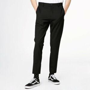 Pantaloni da uomo Elvine HERMANSSON Dritto Nero Taglia 32W