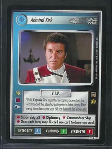 Star Trek Motion Pictures Admiral Kirk 35R NM//M