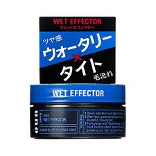 [SHISEIDO UNO] Medium Hold Wet Effector Hair Styling Wax 80g JAPAN NEW