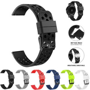Silicone-Bracelet-Strap-Watch-Band-For-Samsung-Gear-S3-Frontier-Classic-22mm-new
