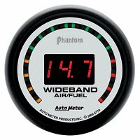 Autometer Phantom 2 street Wideband O2 Air Fuel Ratio Gauge 2 1/16 (52mm)