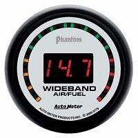 Autometer Phantom 2 street Wideband O2 Air Fuel Ratio Gauge 2 1/16 (52mm)
