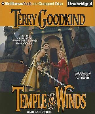 Hill, Dick : Temple of the Winds (Sword of Truth) CD FREE Shipping, Save £s