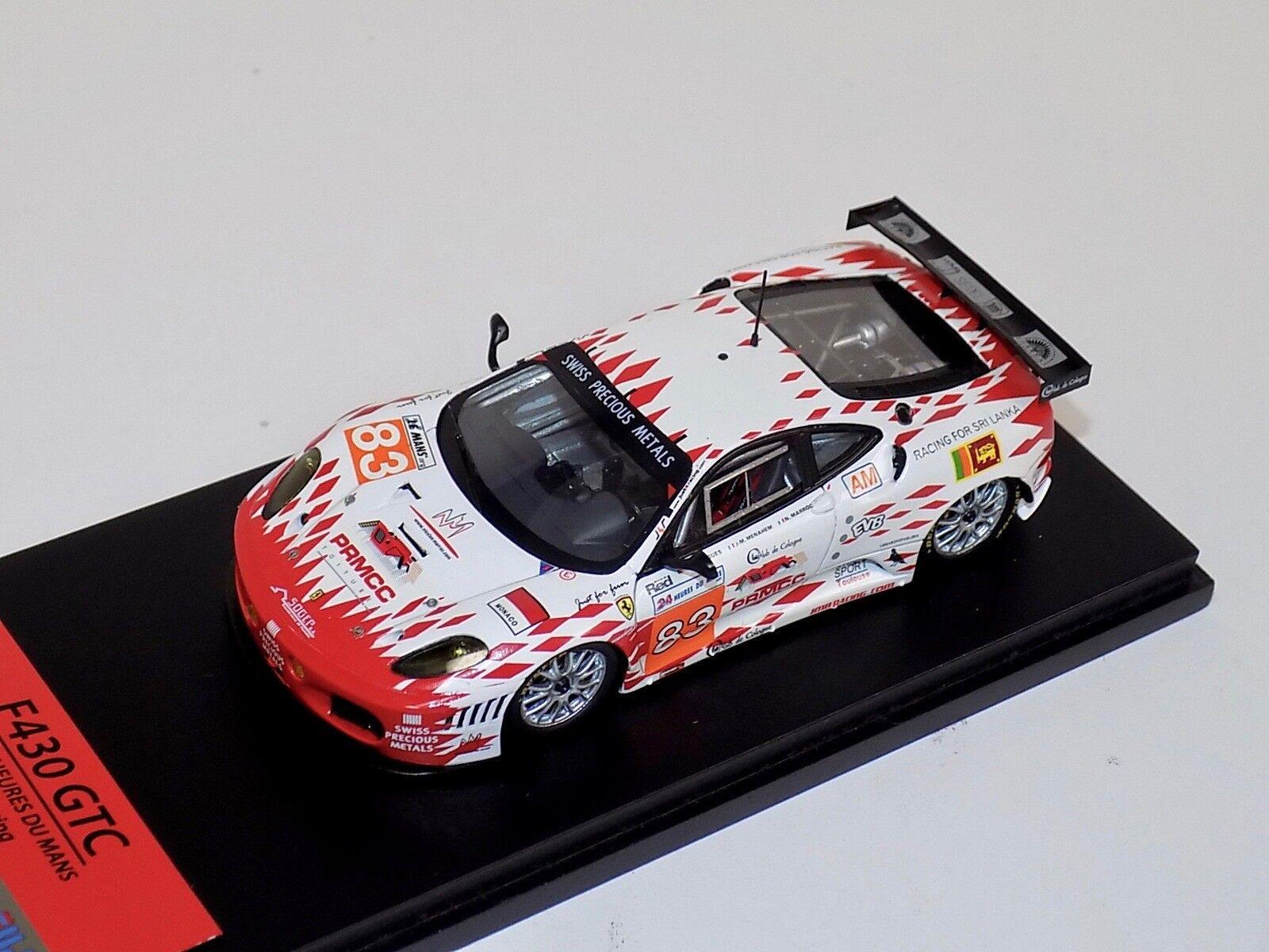 1 43 TSM Fujimi Ferrari F430 GTC 2011 Le Mans JMB Racing