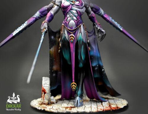 Keeper of Secrets Slaanesh ** COMMISSION ** painting