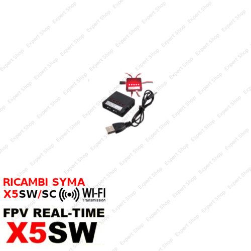 Ricambi DRONE SYMA X5SW//SC WIFI FPV eliche batterie caricatore usb camera motori