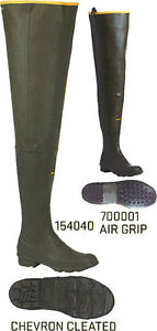 Lacrosse Big Chief Hip Boots, Insulated and Non Insulated,1540<wbr/>40, 700001