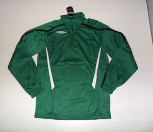 Green Fw13 Half Xl 10453 Jacket Top Gym Training Sweatshirt Zip Umbro xHCOqFXH