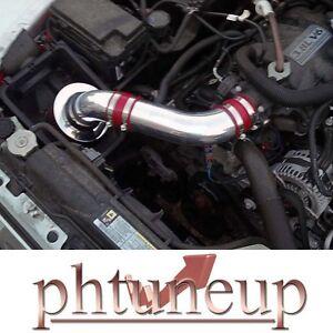 red 2007-2011 jeep wrangler rubicon sahara 3.8 3.8l air intake kit + filter    ebay  ebay