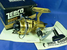 Mulinello Zebco 6000 made in Japan ultralight reel, pesca bolognese, spinning