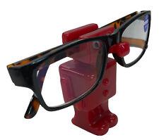 Red 35 Robot Eyeglasses Holder For Display Or Desktop Eye Glasses Not Include