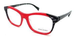 23c8dc84d64 Alain Mikli Rx Eyeglasses Frames A03068 F125 53-16-140 Dot Red ...