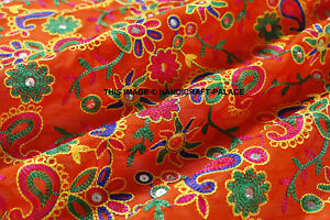 By The Yard Silk Dupioni Embroidered Fabric Bty Dress Drape Blouse Shirt Kimono Ebay