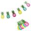 1.5 m Summer papier Ananas Bannière Luau Tiki Party Supplies Hawaïen Thème Décoration