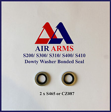 AIR ARMS S465, DOWTY WASHER, BONDED SEAL, S200, S300, S310, S400, S410
