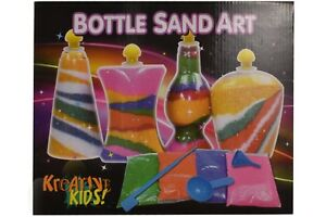 Sand-Art-Bottle-Kids-Girls-Craft-DIY-Hobby-Party-Activity-Toy-Game-Kit-Set