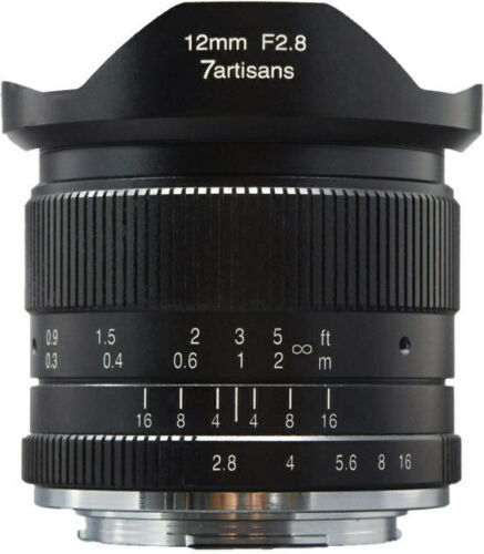 7artisans Photoelectric 12mm f//2.8 Lens for Micro Four Thirds Cameras
