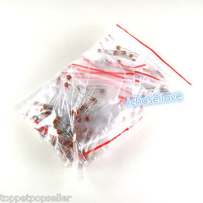 300Pcs 30-Values 2pF-0.1uF 50V Ceramic Capacitors Assorted Kit Assortment Set