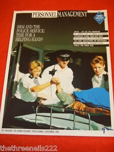 PERSONNEL MANAGEMENT - HRM & THE POLICE SERVICE - DEC 1993