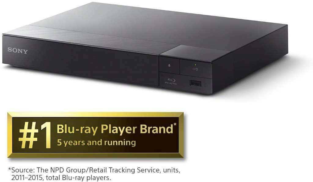 New: Sony BDP-S6700 4K Upscaling 3D Streaming Home Theater Blu-Ray Disc Player ( disc home player sony streaming theater upscaling