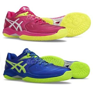 huge selection of 12daf e4be3 Image is loading Asics-Blast-FF-FlyteFoam-Gel-Mens-Womens-Badminton-