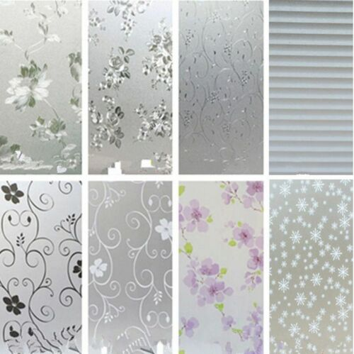 45CMx2M PVC Frosted Privacy Frost Bedroom Bathroom Glass ...