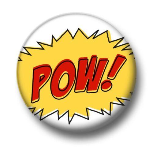 1 Inch 25mm Pin Button Badge Comic Book Speech Bubble Effect Cartoon Fun