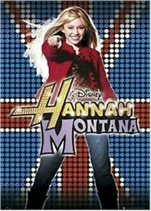 Hannah Montana Miley Cyrus Uk Poster Disney Ebay