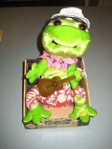 Frogz-Frog-Rock-It-Rap-It-Ribbit-COUNTRY-Plays-IT-034-S-FIVE-O-034-CLOCK-SOMEWHERE