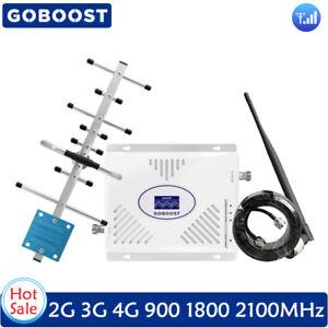 Signal-Booster-900-1800-2100MHz-Voice-Network-Data-Amplifier-Yagi-Antenna-Set