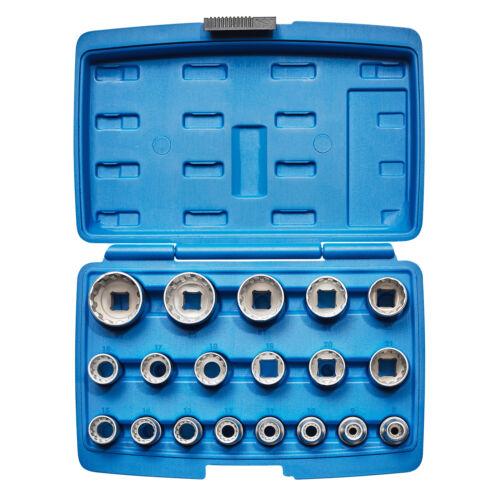 """19-tlg Kraftplus ® k.121-5219 multixx ® jeu clés à douille 1//2/"""" 8-32 mm 12-Kant"""