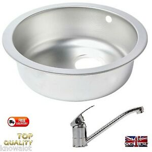 SMALL-SINK-FOR-MOTORHOME-CATERING-Hygiene-Basin-TAPS-IDEAL-SELF-BUILD-CAMPER