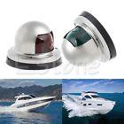 Marine Boat Yacht Light 12V Stainless Steel LED Bow Navigation Lights One Pair