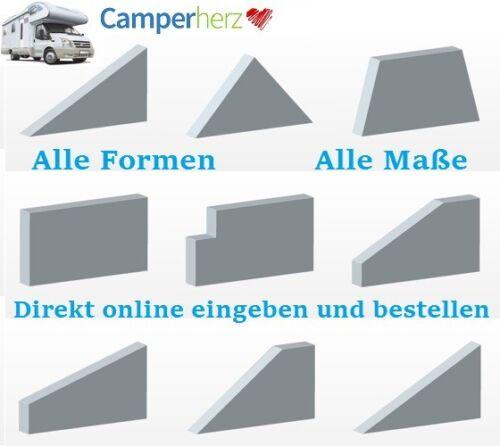 7cm Matratzenauflage Kaltschaum/&Kokos Wohnwagen Camping Topper Matratzenschoner