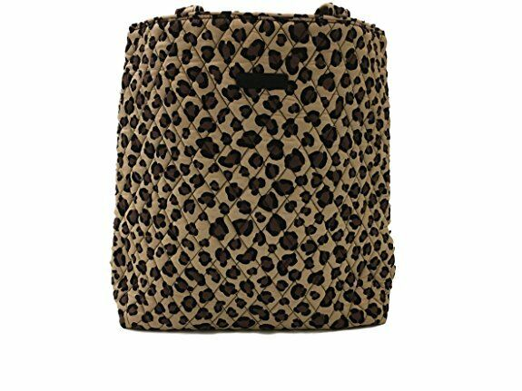 cf320006a2 Vera Bradley Quilted Fabric Leopard Tote Bag Shoulder Straps for sale  online