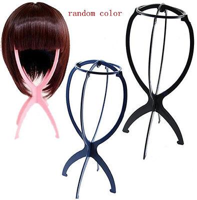 Folding Plastic Stable Practical Wig Hair HatJTV5 Cap Holder Stand Display Tool