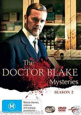 The Doctor Blake Mysteries SEASON 2 = NEW R4 DVD
