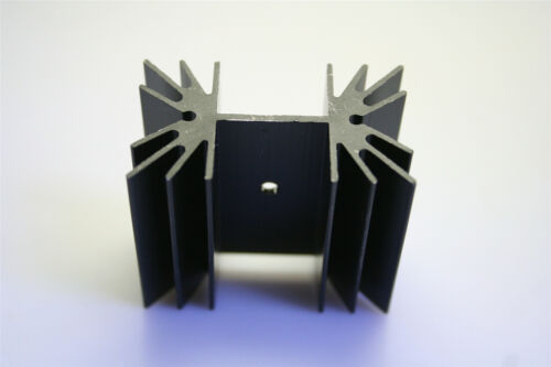 5PCS 42x35x25mm Noir Aluminium Dissipateur de chaleur pour MOS tube DEL Transistor De Puissance