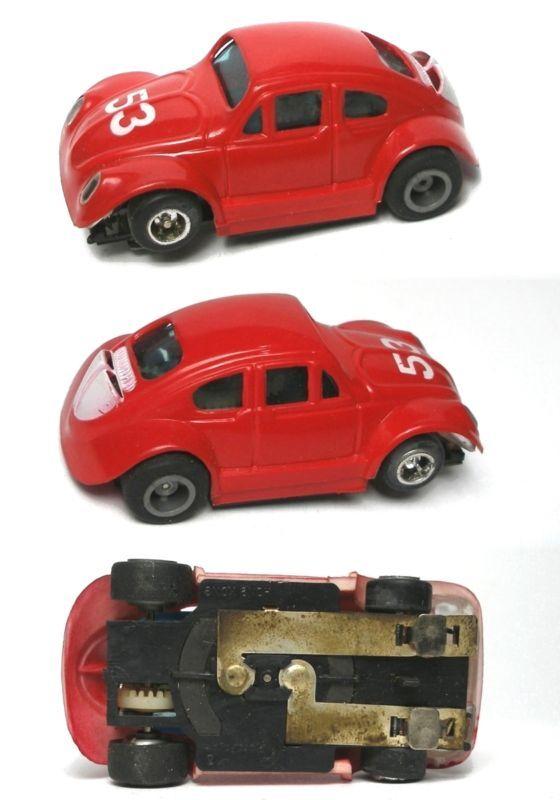 BRASIL rödAFAST VW BUG HO Slot bil UNGE